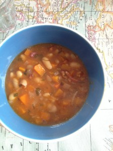 Cannelin Bean and Bacon Soup